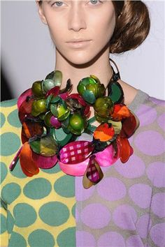 Now THAT'S a necklace! By Marni.