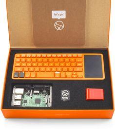Kano computer and screen anyone can make and code
