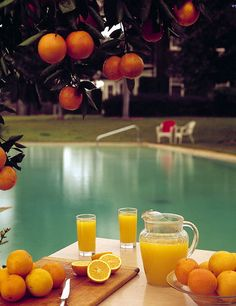 Oranges.  Florida.  What could be better?