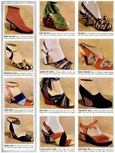 1939 shoe print ad.