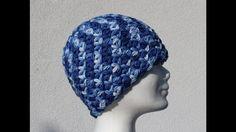 Triangle Star Stitch Hat - Crochet Tutorial - Puffed Star Stitch