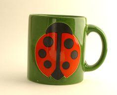 Waechtersbach ladybug mug
