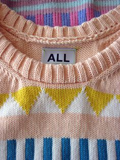 ALL sweater.