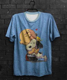 Camiseta Peanuts Friends