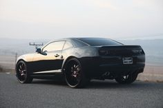 Murdered out Camaro