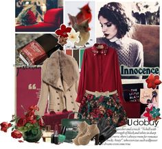 """Well Red"" by bamaannie ❤ liked on Polyvore"