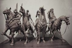 ArtStation - Four Horsemen of the Apocalypse, Sadan Vague