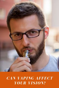 Vaping can damage your vision, as well as your overall health, eye doctors, researchers and the CDC say. Learn more about the risks of vaping. Smokers Face, What Is Vaping, Quit Tobacco, Eye Safety, Diabetic Retinopathy, Vision Eye, Eye Doctor, Oxidative Stress, Physiology