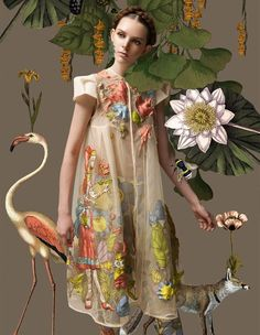 Harper's Bazaar Indonesia's 'Le Printemps' Shoot is Whimsical #fashion trendhunter.com