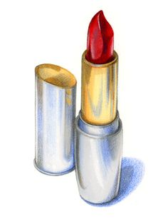 a girls best friend Cool Art Drawings, Pencil Art Drawings, Realistic Drawings, Colorful Drawings, Art Sketches, Dark Drawings, Color Pencil Sketch, Makeup Illustration, Colored Pencil Artwork