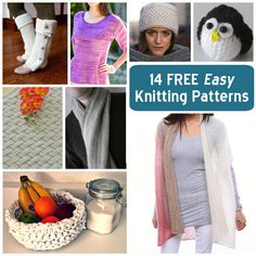 My latest Craftsy blog post! Free can be fashionable and easy can be exciting, as you'll see in these knitting patterns for clothing, accessories, home decor, baby clothes and more.