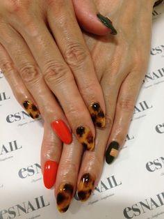 tortoise shell #nail #nails #nailart