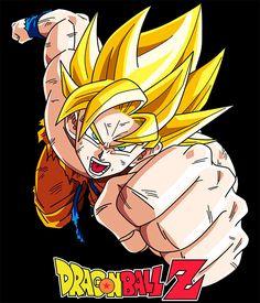 Camiseta Dragon Ball Z. Goku puño