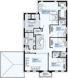 floor plans double storey house plans home designs custom home design - Double Storey House Plans