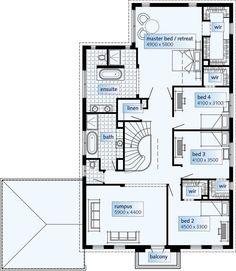 """Über   Ideen zu """"Double Storey House Plans auf Pinterest    Über   Ideen zu """"Double Storey House Plans auf Pinterest   Hauspläne  Grundrisse und Luxushäuser"""""""