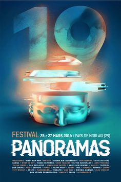 affiche panoramas Festival 2016