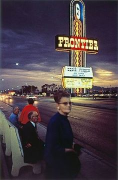 William Eggleston, Untitled (Frontier Sign), from Lost and Found, 1965-1968.