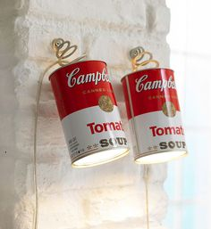 Wall #lamp in #PopArt style, inspired to the famous #Campbell's tomato. Design by  #Matthias & #Sczech for #IngoMaurer