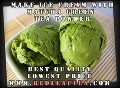 matcha green tea ice cream by the catty life (does not require ice cream maker) Matcha Ice Cream, Sorbet Ice Cream, Green Tea Ice Cream, Ice Cream Party, Green Tea Dessert, Matcha Dessert, Matcha Cookies, Frozen Desserts, Frozen Treats