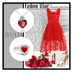 """Jeulia"" by tanja-871 ❤ liked on Polyvore featuring GUESS, BCBGMAXAZRIA, Estée Lauder, women's clothing, women's fashion, women, female, woman, misses and juniors"