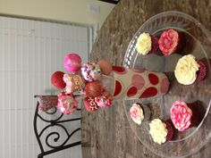 Valentine cake pop bouquet!  But you can use any theme and good for centerpieces
