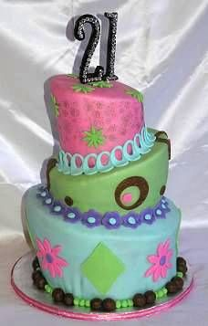 This sort of cake could be fun for Fayth's 1st Birthday
