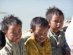 Tibetan children