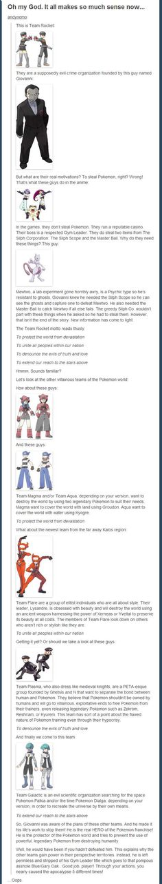 real truth behind Team Rocket The real truth behind Team Rocket.welp, looks like i helped the apocalypse almost happen thenThe real truth behind Team Rocket.welp, looks like i helped the apocalypse almost happen then Pokemon Go, Pokemon Pins, Pokemon Memes, Pokemon Funny, Pokemon Cards, Pokemon Comics, Pokemon Fusion, Pokemon Theory, Gengar Pokemon