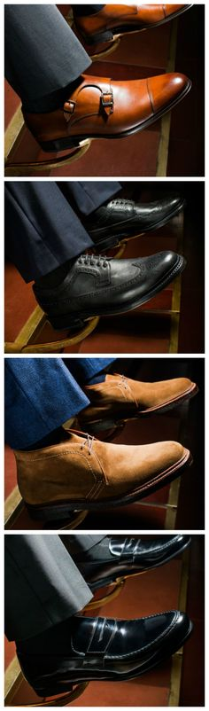 We love a good sneaker just as much as the next guy, but there are those times when only a classic pair of dress shoes will do the trick. And thanks to their timeless good looks, you know they'll serve you well for years to come. Here are ten styles that every man should know.