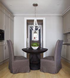 Квартира в стиле современная классика с анфиладной планировкой