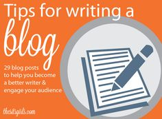 When it comes to writing a blog, there are fundamental skills and writing approaches that you need to know. This page gives you all of our best writing tips.