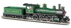 Bachmann HO Baldwin 4-6-0 Steam Locomotive and Tender, Southern No. 1087, with Sound Value