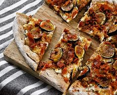 Get All Fancy With Your Pizza – Fig and Prosciutto Pizza, And a Secret Ingredient (Pears)