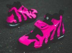 Pink n black nikes