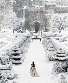 """""""Snow disappears in a night, you know, and it's never very cold here, but that's about all. Usually it rains after nightfall,' he added apologetically."""" Sounds like Normandy..."""