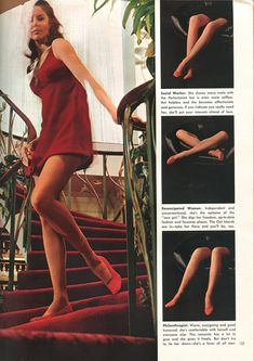 vintage playboy magazine language of legs  photo by Dwight Hooker