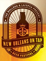 New Orleans on Tap Beer Festival & Fundraiser for the LA/SPCA - fabulous idea and cause!