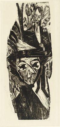 Portrait of Marie-Luise Binswanger (Portrait Frau Marie-Luise Binswanger)  Ernst Ludwig Kirchner (