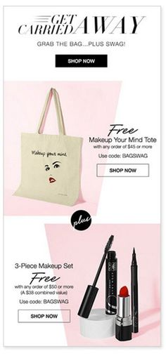 Free Avon Makeup Set and Tote with Purchase October 2016 http://www.makeupmarketingonline.com/free-avon-makeup-set-tote-purchase-october-2016/