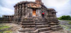 Daitya Temple in Lonar Crater, India