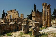 Utica (Tunez). Ruinas de la ciudad que antaño fue una de los grandes enemigos de Roma, la poderosa Cartago.