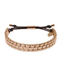 Y18B2 Michael Kors Watch-Link Bracelet, Rose Golden