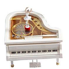 Risultati immagini per carillon pianoforte ballerina Classical Piano Music, Musical Toys, Ballerina, Music Instruments, Clock, Jewelry Box, Dancer, Image Link, Gifts