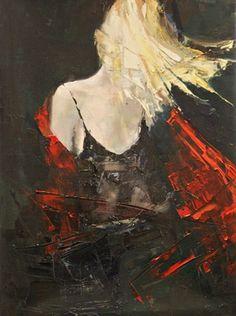 "Saatchi Online Artist Fanny Nushka Moreaux; Painting, ""That Old Shirt, 2013"" #art"