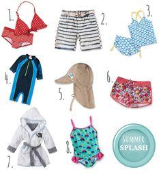 Pack die Badesachen ein! // Swim Suit Highlights für Kids