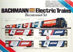 Bachmann Bicentennial HO Scale Train Set