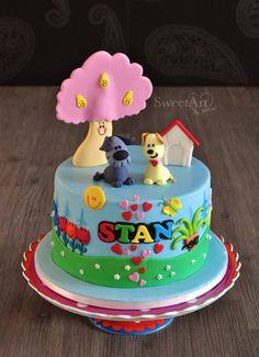Woezel en pip taart for Stan's 1st birthday