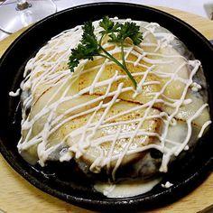 Si te encanta el queso este es tu okonomiyaki #Repost @telsa__  #foodporn #food #picoftheday #instagood #instafood #hanakura