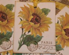 Etsy の Garden Lover Gift Tags by GreenAcresCottage