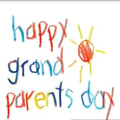 Happy Grandparents Day Image, National Grandparents Day, Grandparents Day Crafts, Cover Pics For Facebook, Grands Parents, Printable Pictures, Day Wishes, Images Google, Bing Images